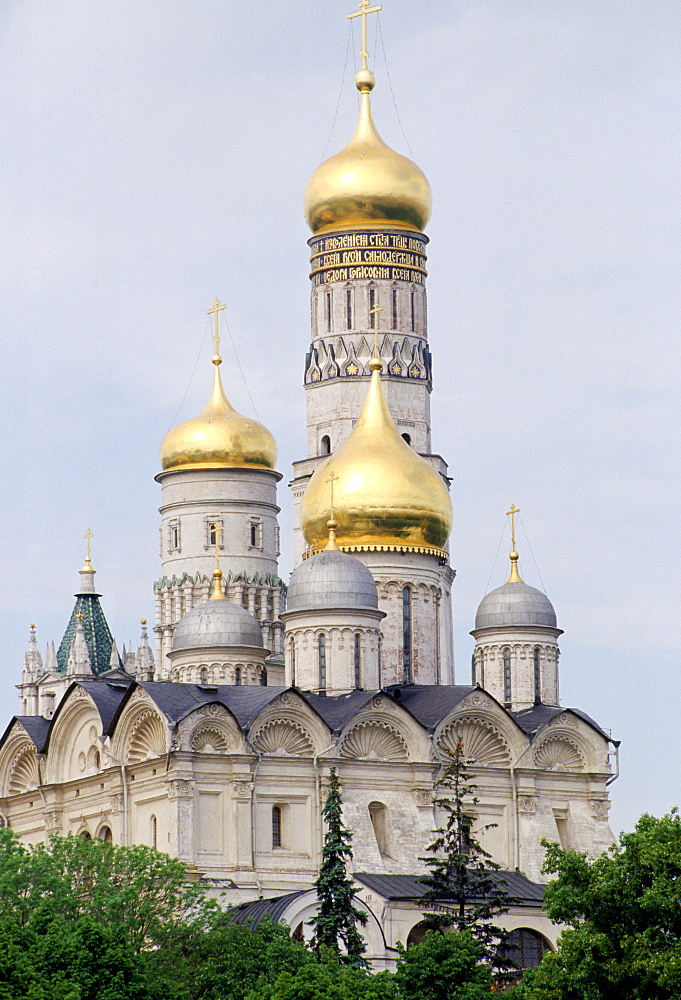 Archangel Michael Cathedral at The Kremlin, Moscow, Russia
