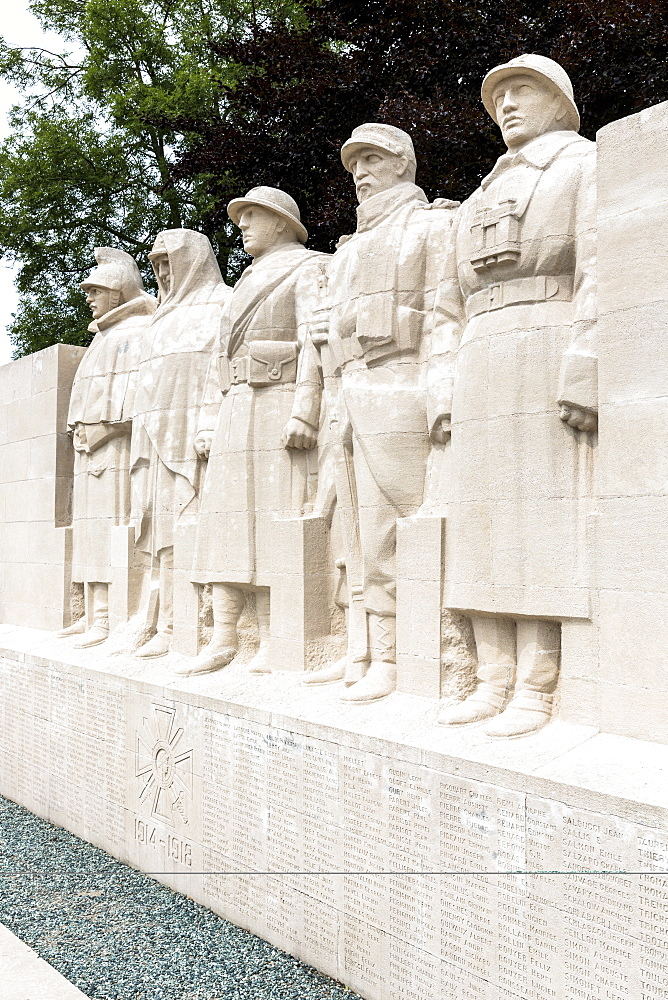 World War One Monument to the Sons of Verdun in Verdun, Meuse, Lorraine, France, Europe