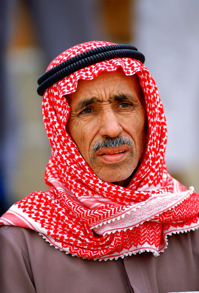 Old man in Kuwait.