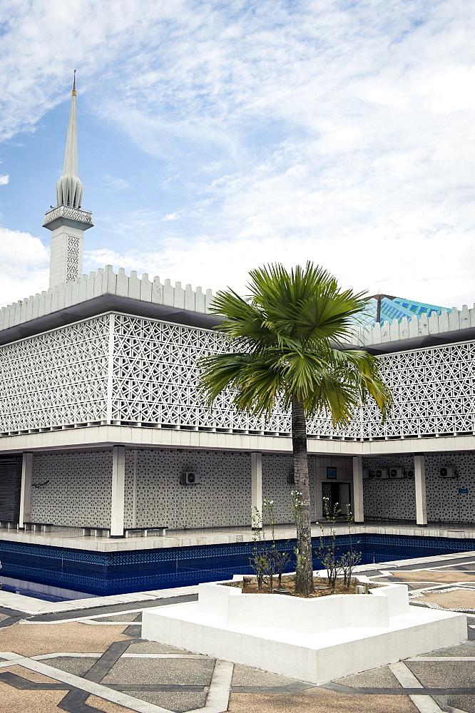 The National Mosque of Malaysia, Kuala Lumpur, Malaysia, Southeast Asia, Asia  - 1163-15