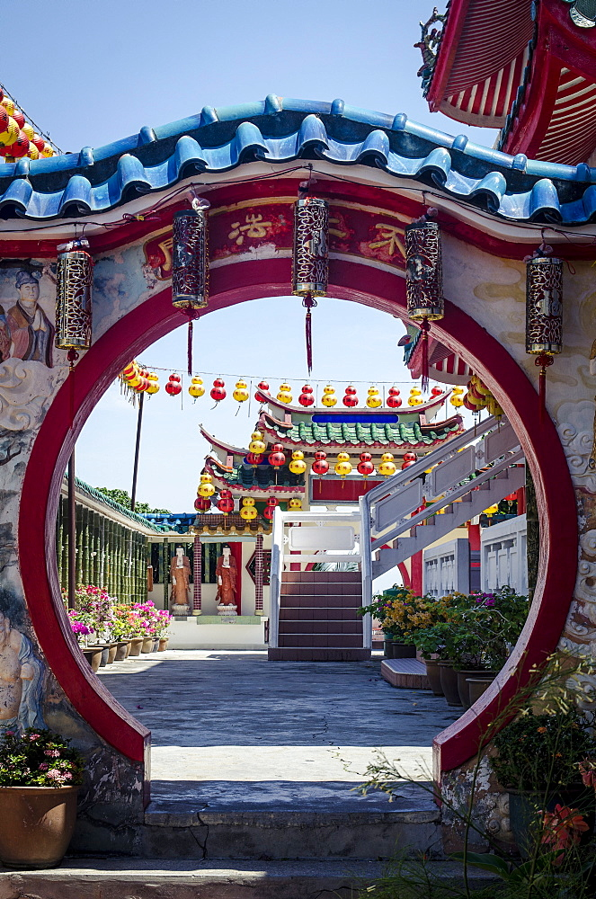 Archway, Kek Lok Si Temple, Penang, Malaysia, Southeast Asia, Asia