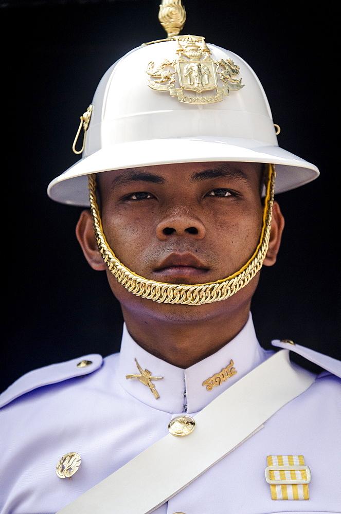 Palace Guard, Grand Palace, Bangkok, Thailand, Southeast Asia, Asia - 1163-27