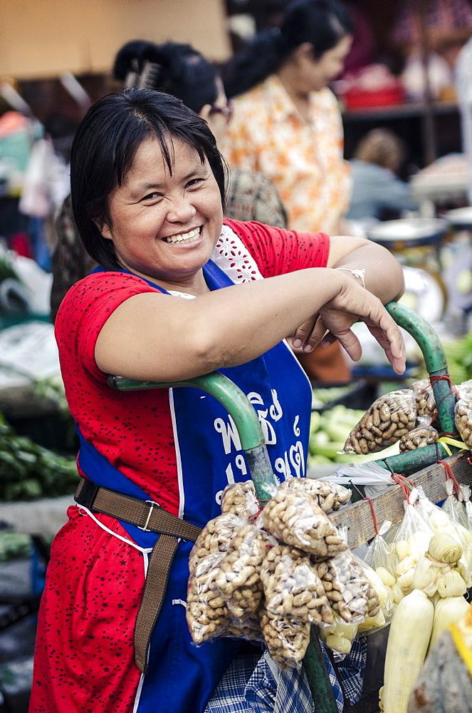 Nonthaburi Market, Bangkok, Thailand, Southeast Asia, Asia - 1163-37