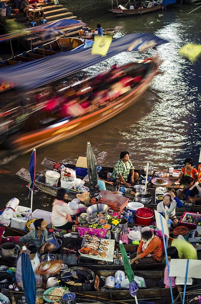 Amphawa weekend market, Amphawa, Thailand, Southeast Asia, Asia  - 1163-48