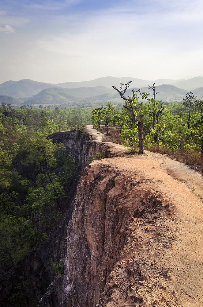Pai Canyon, Mai Hong Son Province, Thailand, Southeast Asia, Asia  - 1163-52