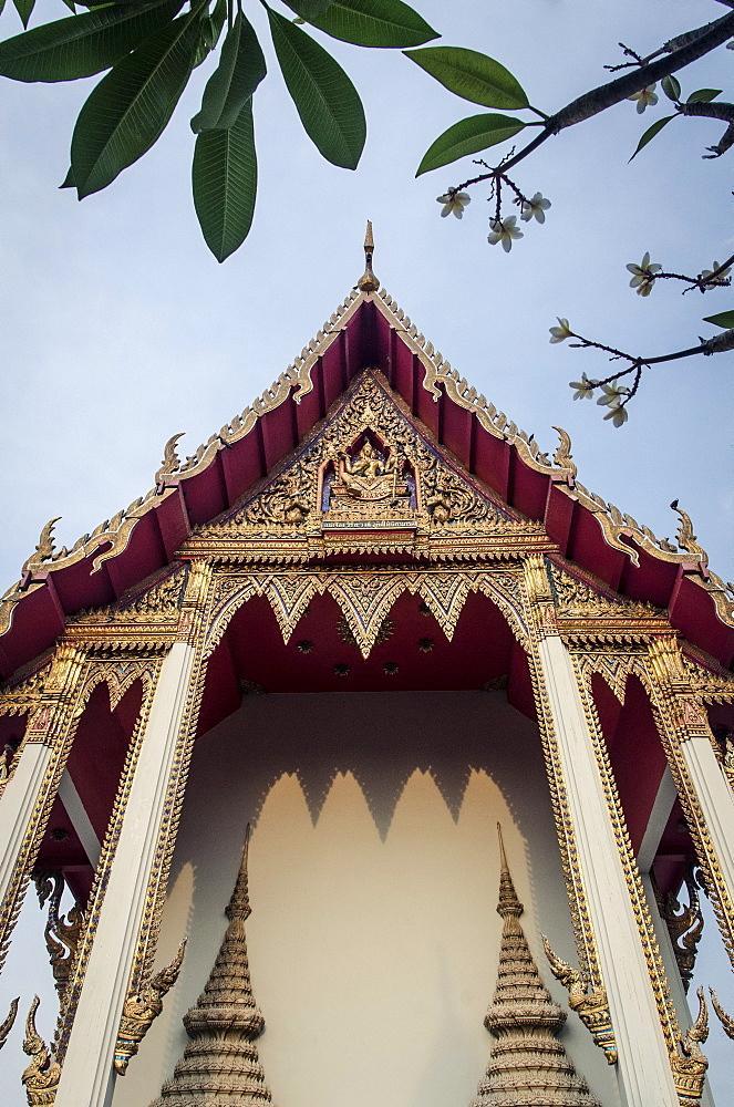 Wat Kongkaramworavihara, Phetchaburi, Thailand, Southeast Asia, Asia  - 1163-54