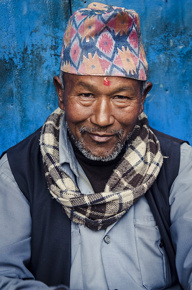 A local man, Bhaktapur, Nepal, Asia - 1163-82