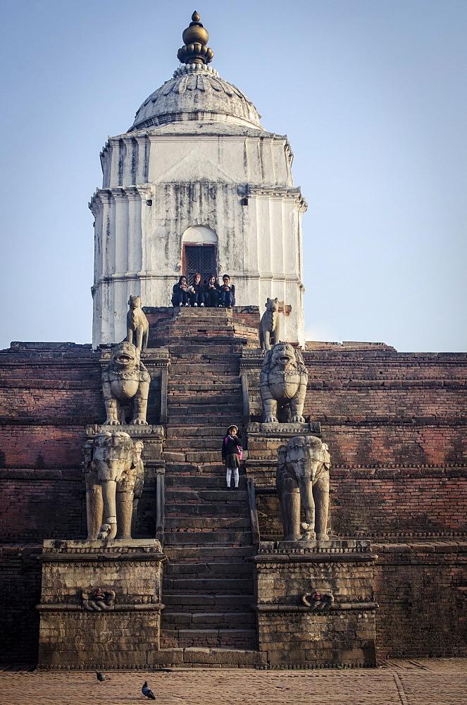 Fasidega Temple, Durbar Square, Bhaktapur, UNESCO World Heritage Site, Nepal, Asia  - 1163-83