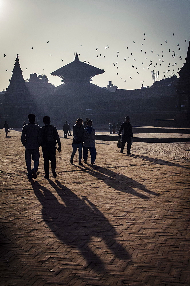 Durbar Square, Bhaktapur, UNESCO World Heritage Site, Nepal, Asia  - 1163-84