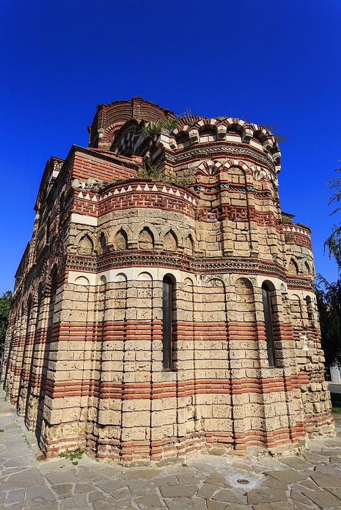 Church of Christ Pantokrator (Pantocrator), mid-14th century, Nesebar (Nessebar), UNESCO World Heritage Site, Bulgaria, Europe