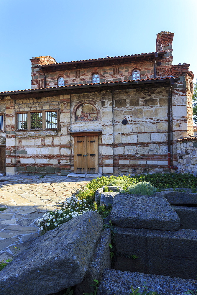 Church of Sveti Stefan (St. Stephen) (New Metropolitan Cathedral), Nesebar (Nessebar), UNESCO World Heritage Site, Bulgaria, Europe