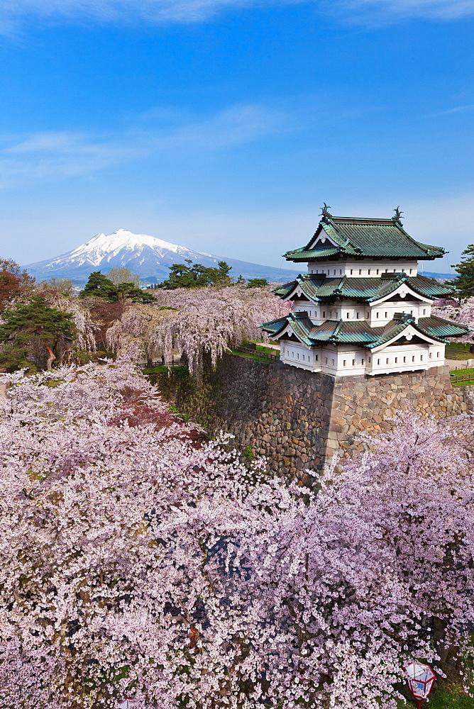 Hirosaki Castle, Aomori Prefecture, Japan