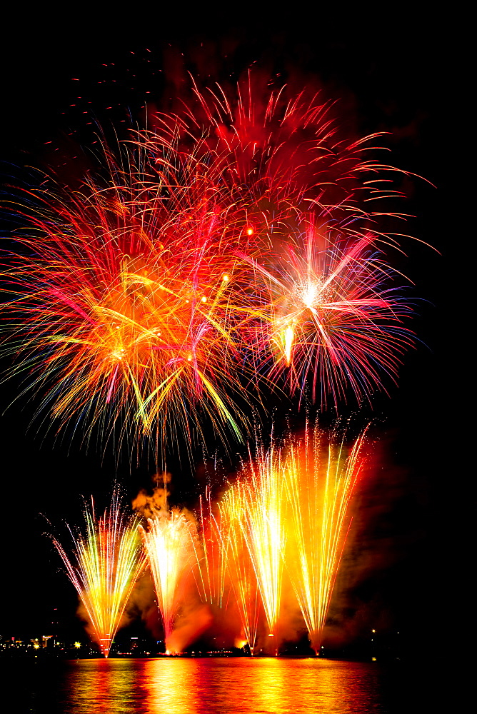 Komonmatsuri Fireworks, Mito, Ibaragi, Japan