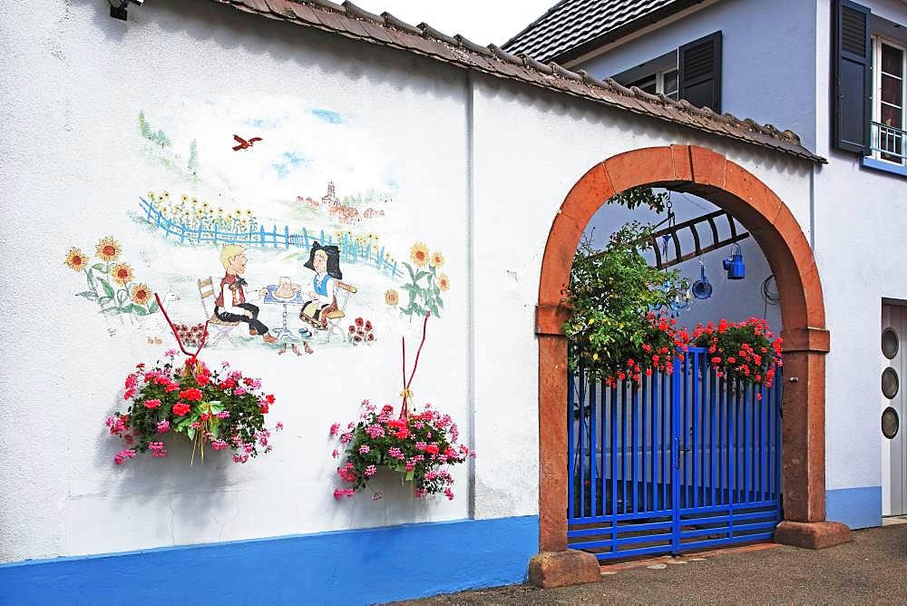 France, Alsace, Haut-Rhin, Neuf-Brisach