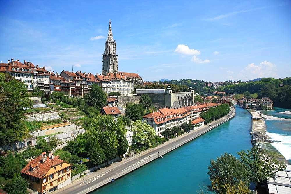 Switzerland, Canton Bern, Bern, UNESCO World Heritage Site