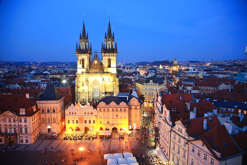 Czech Republic, Historic Centre of Prague, UNESCO World Heritage Site, Old Town Square