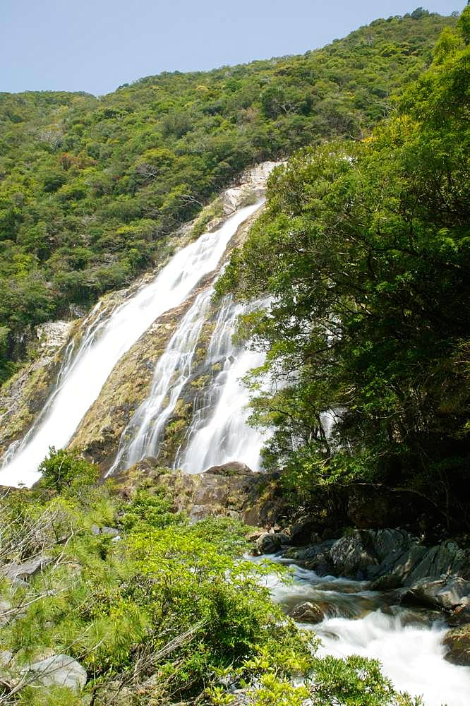 Oogawa Falls, Kagoshima Prefecture, Yakushima, Kagoshima Prefecture