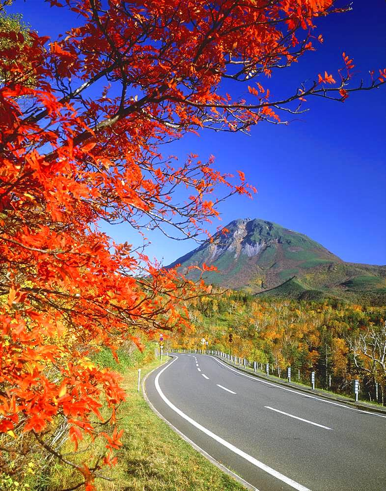 Mt. Rausu and Shiretoko Crossing, Hokkaido, Japan