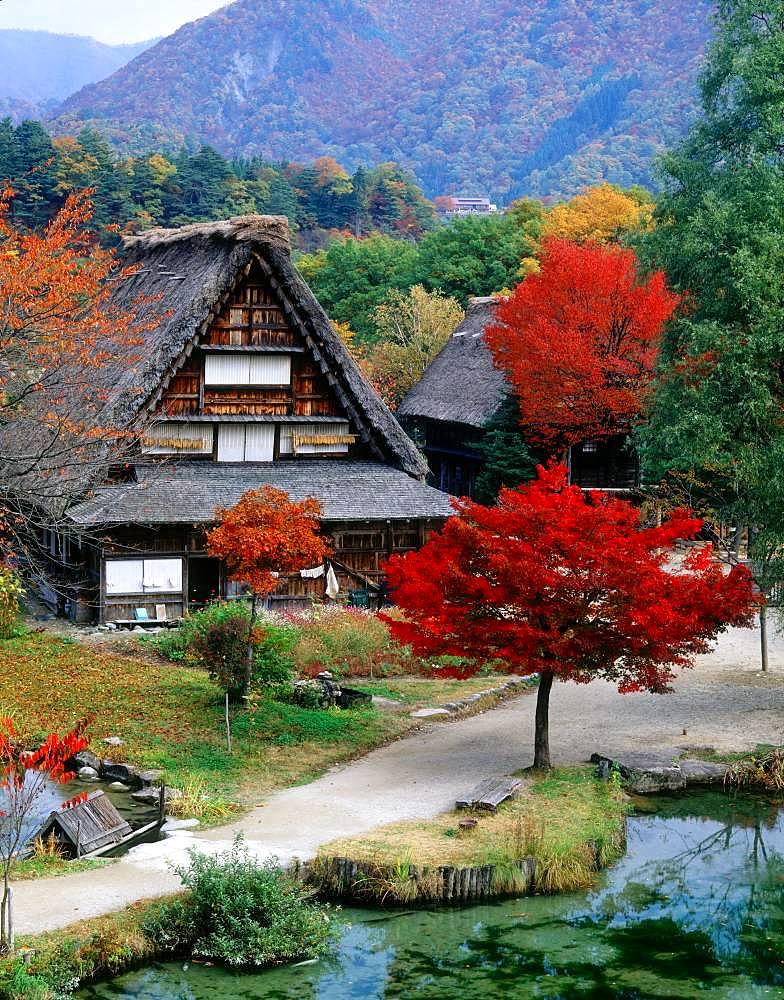 Minkaen, Ogimachi, Gokayama Village, Toyama Prefecture, Japan