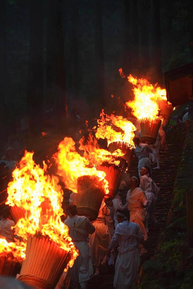Fire Festival of Nachi, Wakayama, Japan - 1172-4854