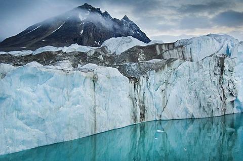 Monaco glacier, Svalbard, Norway