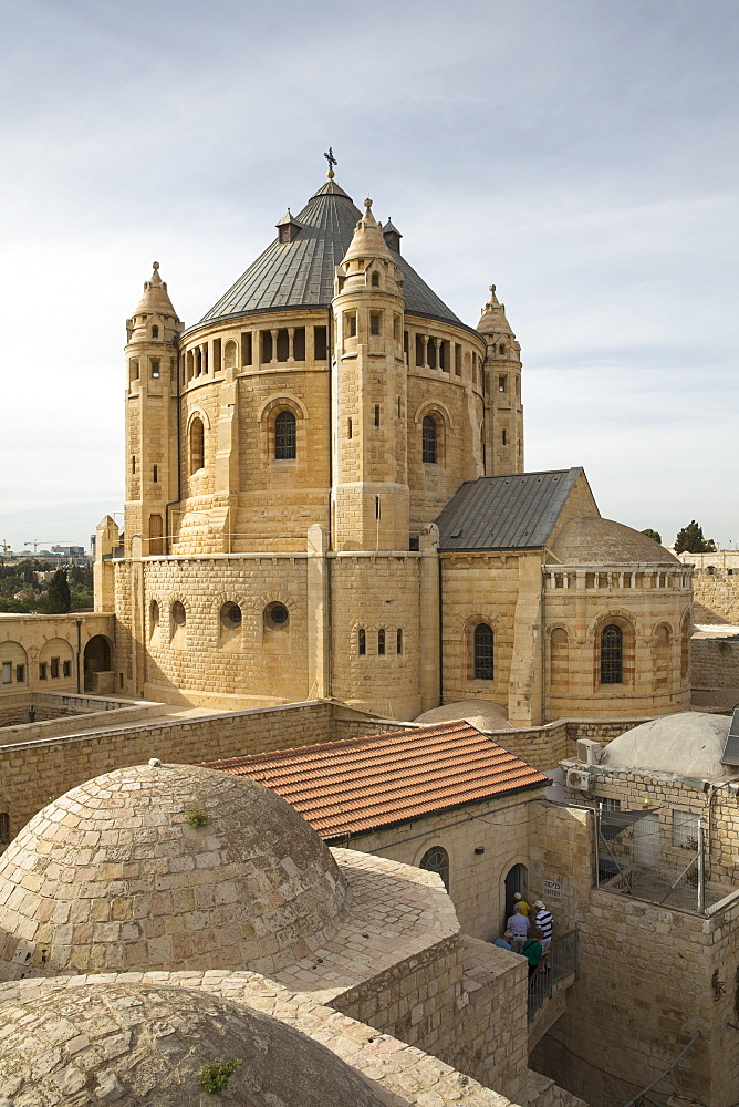 The Dormition Abbey, Jerusalem, Israel - 1175-1345