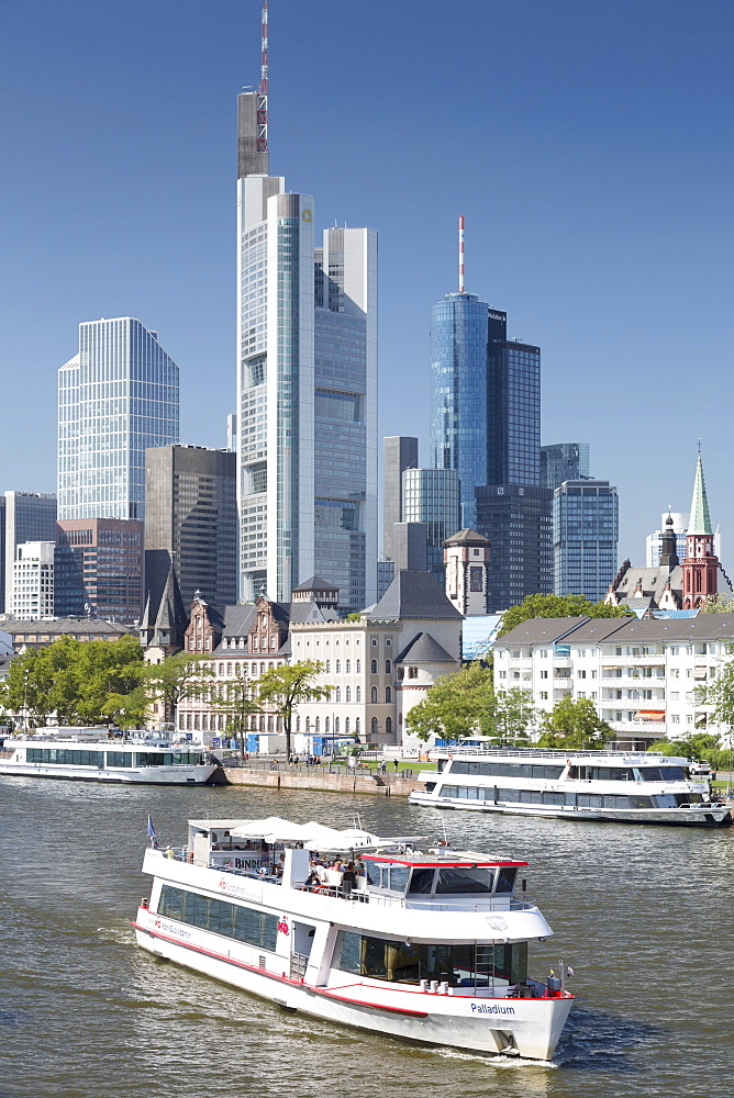 Skyline of Frankfurt am Main, Germany - 1175-1426