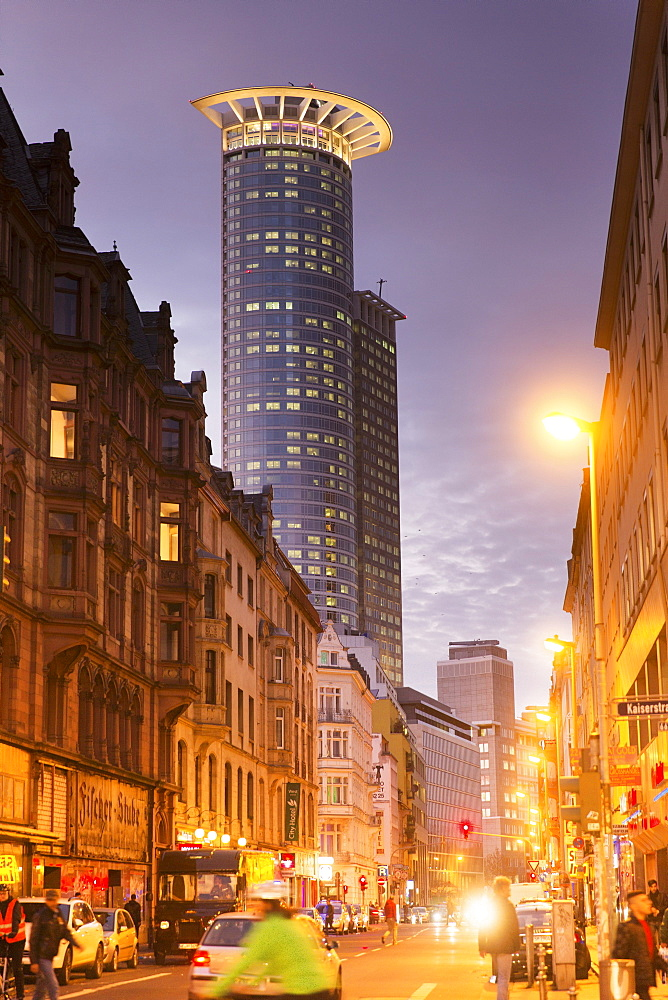 Station Quarter: Moselstrasse and the Westendtower, Frankfurt am Main, Germany