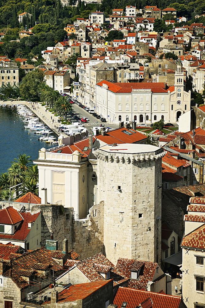 Cityscape of Split, Croatia