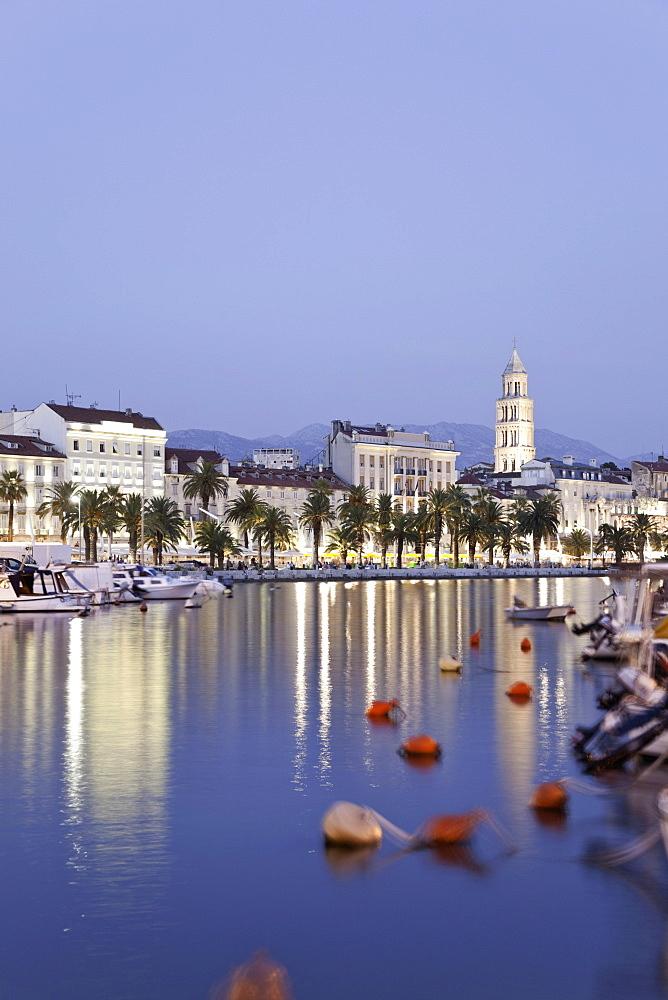 View of Split cityscape, Croatia