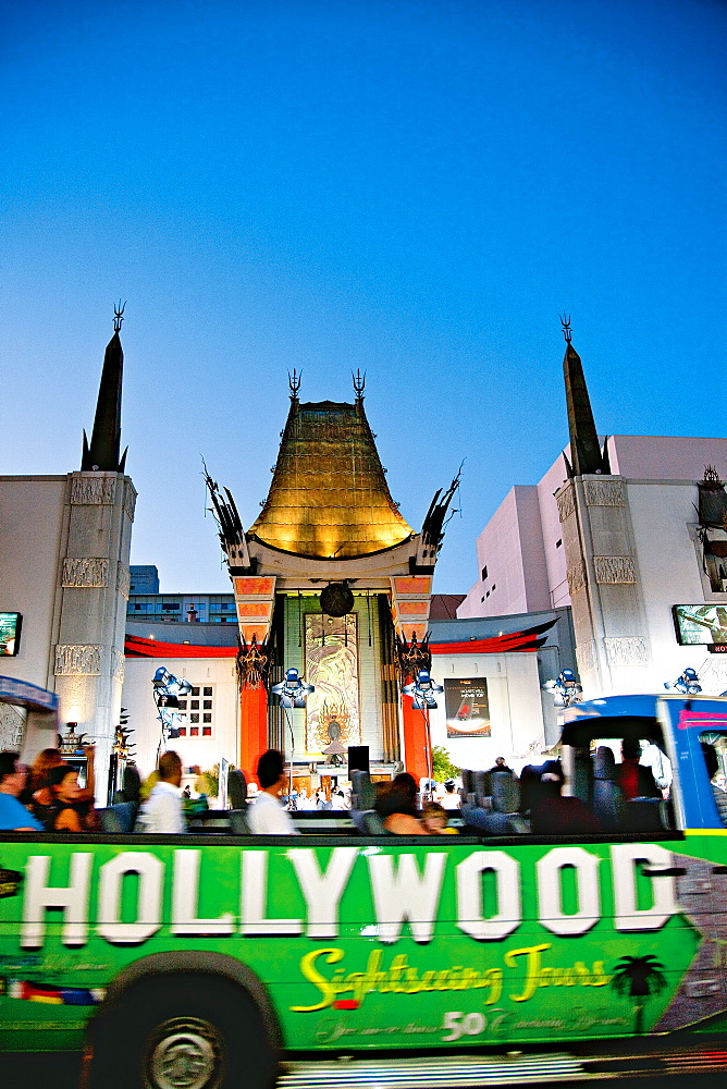 Grauman's Chinese Theatre at Los Angeles, California, USA