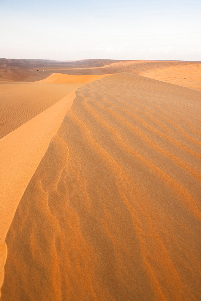 Sand dunes at Wahiba sands, Oman