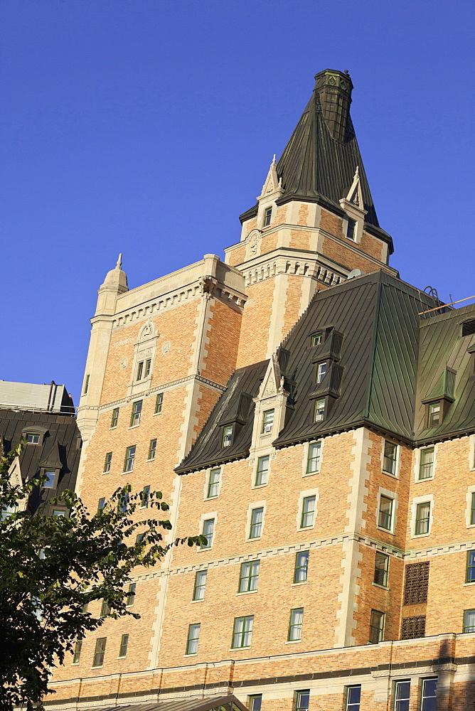 View of Delta Hotel in Saskatoon, Saskatchewan, Canada