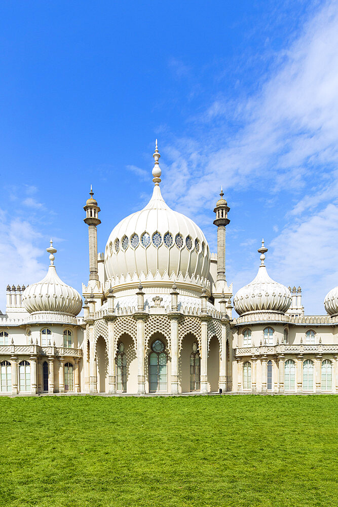 Brighton Pavilion, George IV???s summer palace built in the early 19th Century