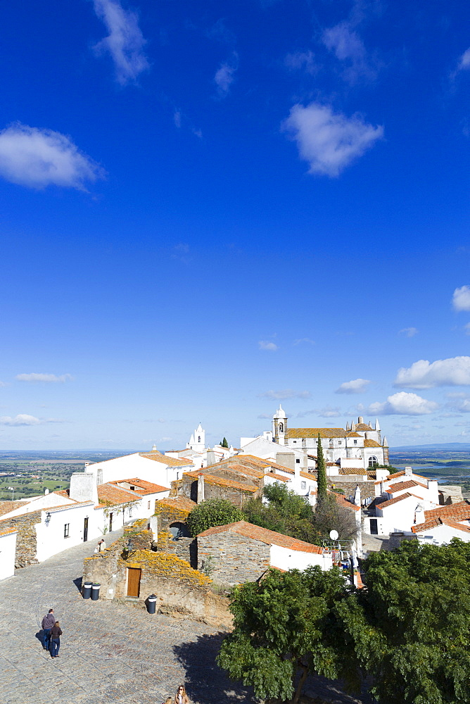 The medieval town of Monsaraz, Alentejo, Portugal, Europe