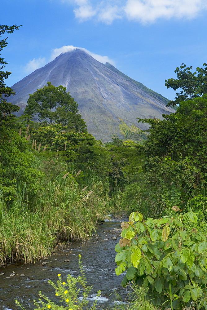 Arenal volcano, Alajuela, Costa Rica, Central America