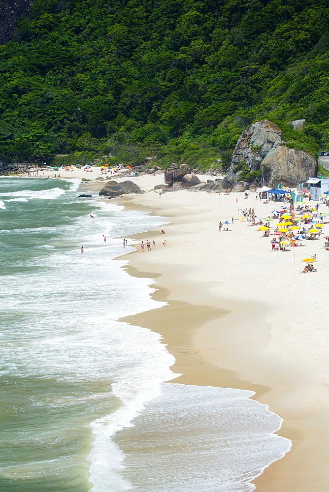 Prainha beach near the Olympic site in Barra da Tijuca (Recreio dos Bandeirantes), Rio de Janeiro, Brazil, South America