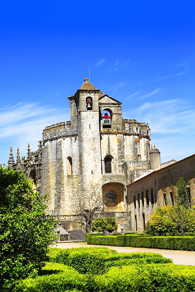Templar Abbey, Convento de Cristo, UNESCO World Heritage Site, Tomar, Santarem District, Portugal, Europe