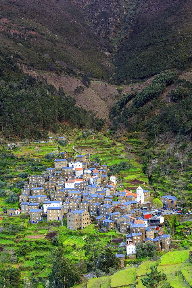 Piodao village, Serra da Estrela, Coimbra District, Portugal, Europe