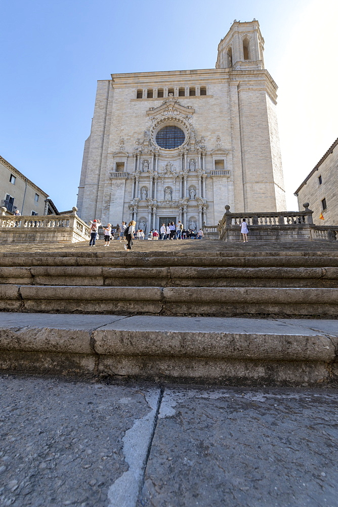 Girona's Cathedral, Catalonia, Spain
