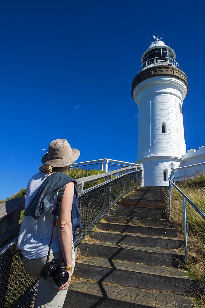 Cape Byron lighthouse, Byron Bay, Queensland, Australia, Pacific