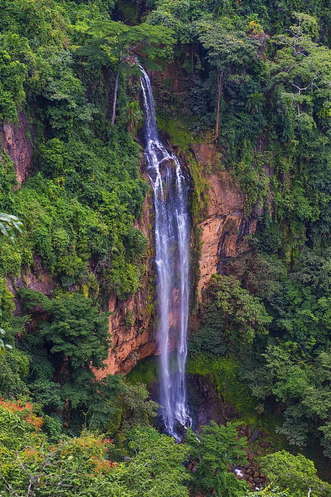 Manchewe Falls near Livingstonia, Malawi, Africa