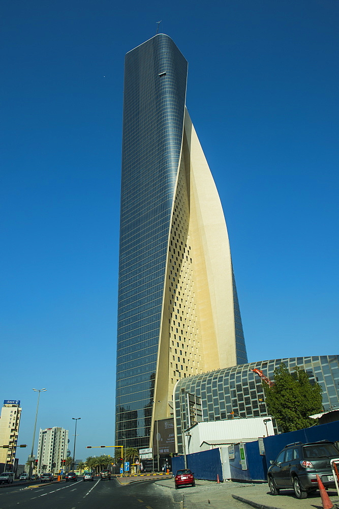 Al Hamra tower in Kuwait City, Kuwait, Middle East