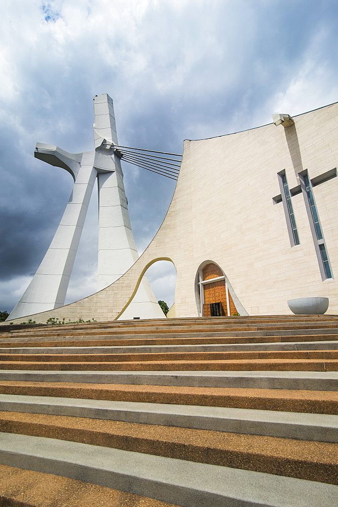 St. Paul's Cathedral, Abidjan, Ivory coast - 1184-2043