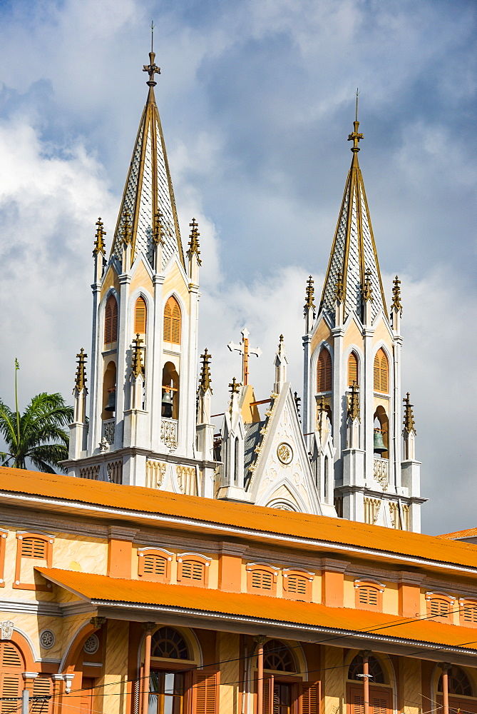 Cathedral of St. Isabel, Malabo, Bioko, Equatorial Guinea