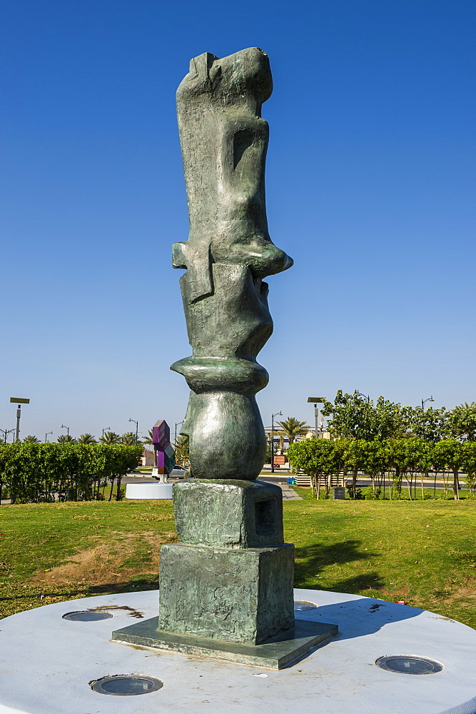 Jeddah Open Museum, Corniche, Jeddah, Saudi Arabia, Middle East
