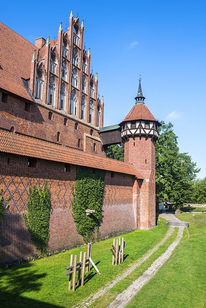 Malbork Castle, UNESCO World Heritage Site, Malbork, Poland, Europe