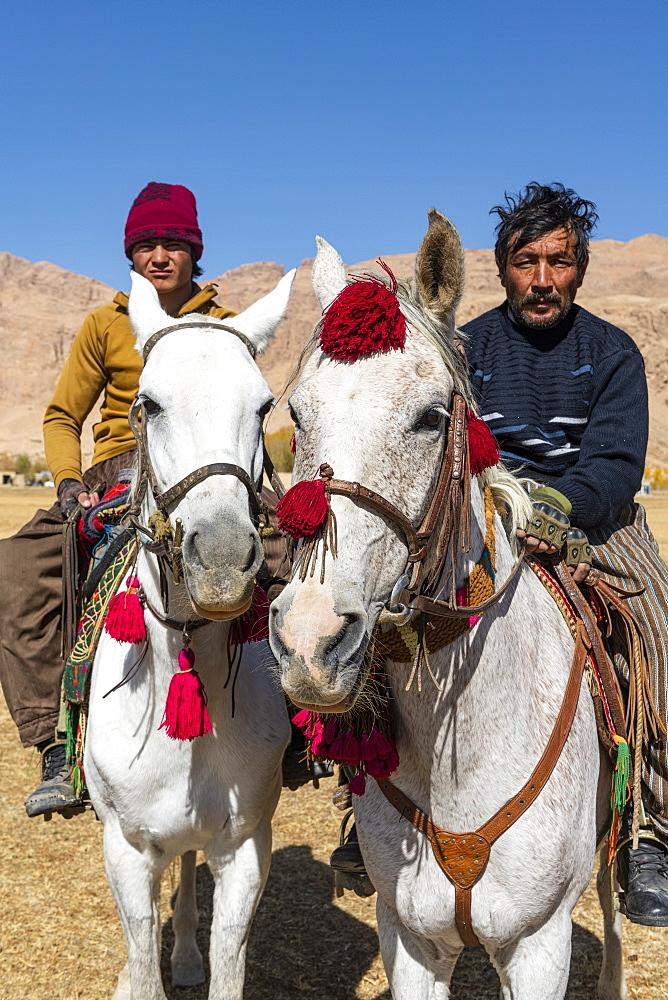 Buzkashi game, Yaklawang, Afghanistan, Asia