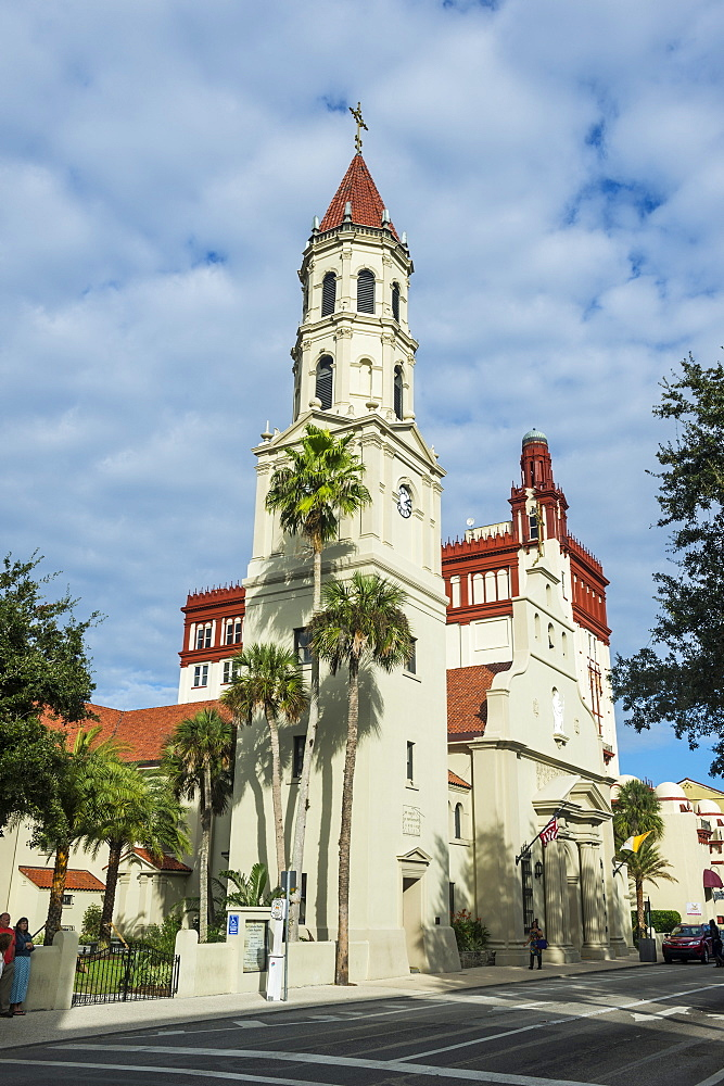 The Cathedral Basilica of St. Augustine, St. Augustine, oldest continuously occupied European-established settlement, Florida, United States of America, North America