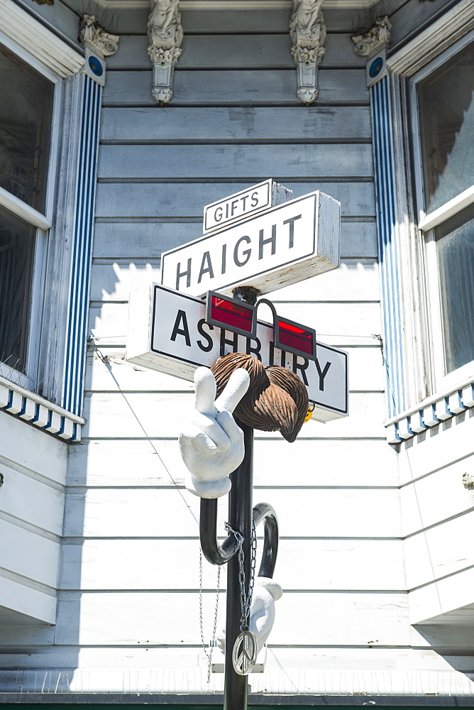 Haight-Ashbury, San Francisco, California, United States of America, North America